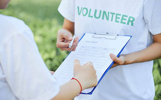 Volunteer At Social Events