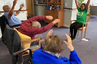 Parkinson's Chair based Yoga
