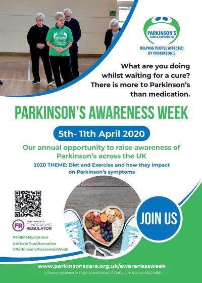 Parkinson's Awareness Week 2020
