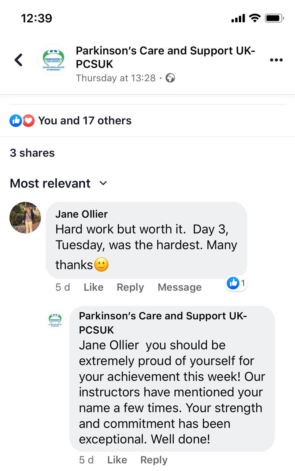 Parkinson's Care & Support