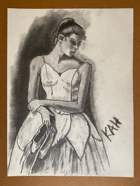 Ballerina Pencil Sketch